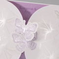Faire-Part Mariage Traditionnel - Duo de papillons 50660 thumb