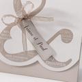 Faire-Part Mariage Traditionnel - Pochette Esperluette 50675 thumb