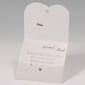 Faire-Part Mariage Traditionnel - Pochette Esperluette 50677 thumb