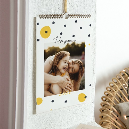 Calendrier Photo 2019 - Jaune et Noir 50698 thumb
