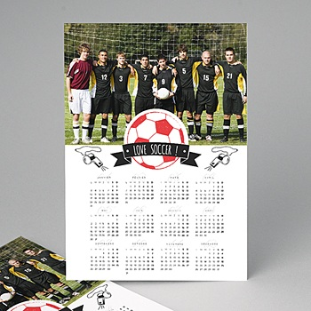 Calendrier photo entreprise 2020 - Football - 0