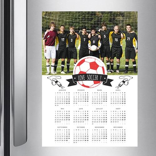 Calendrier Entreprise 2020 Football pas cher