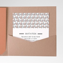Carte d'invitation Liberty