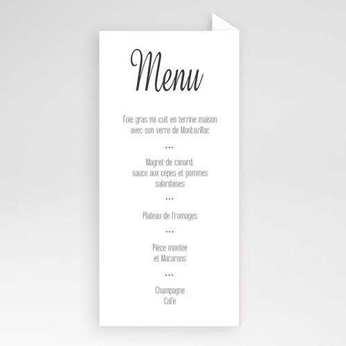 Menu de Mariage - Liberty 50783 preview