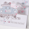 Faire-Part Mariage Traditionnel - Just Married 50801 thumb