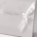 Faire-Part Mariage Traditionnel - Elegance florale 50843 thumb