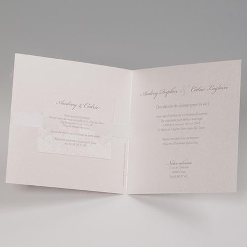 Faire-Part Mariage Traditionnel - Elegance florale 50844 preview