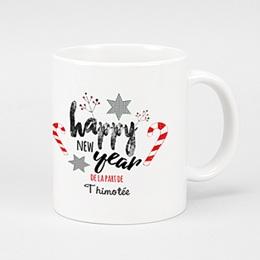 Mug Cadeaux Sucres d'orges de Noel