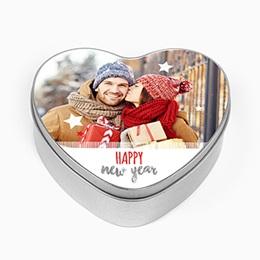 Boîte en métal personnalisée - Merry Christmas - 0