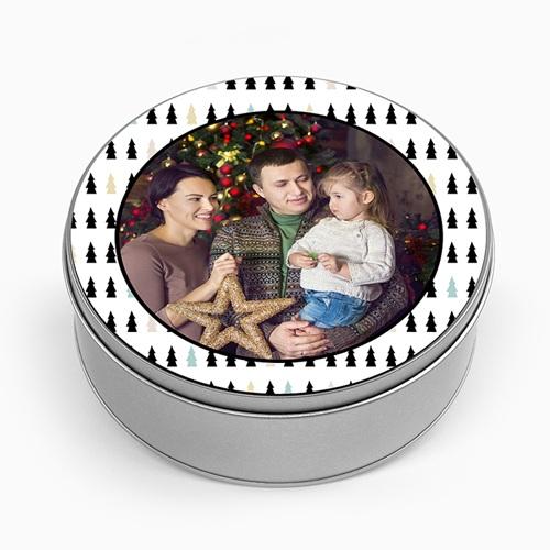 Boîte en métal personnalisée - Petits Sapins 51179 thumb