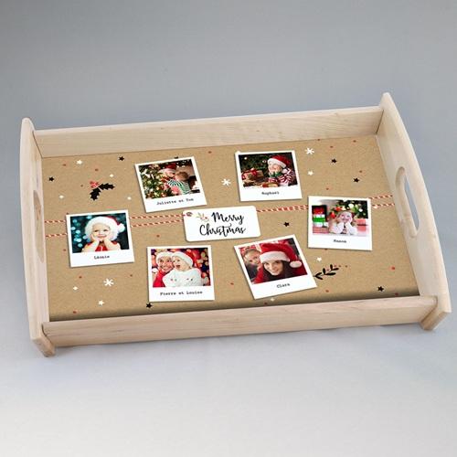 Plateaux personnalisés avec photos - Happy Noël 51247