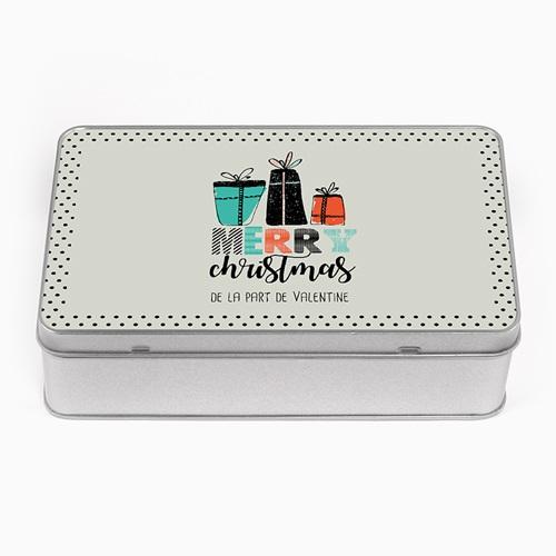 Boîte en métal personnalisée - Cadeaux de Noël 51286 thumb