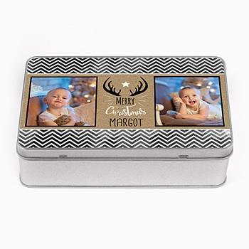 Boîte en métal personnalisée - Cadeau original - 0