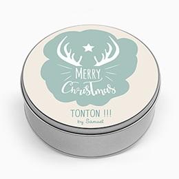 Boite métallique Cadeaux Trésors de Noel