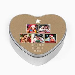 Boîte personnalisée Amour & famille
