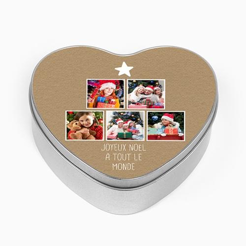 Boîte en métal personnalisée - Amour & famille 51309