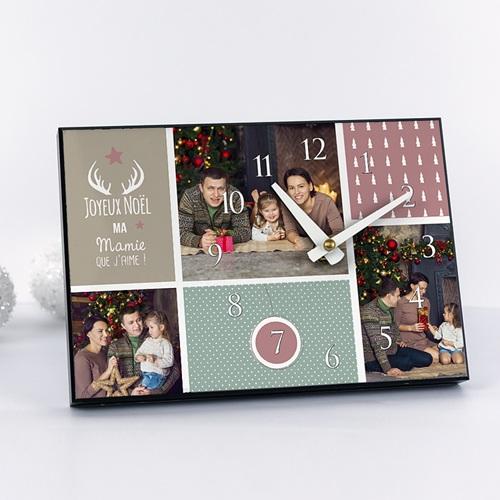 Horloge Personnalisée Photo Photos Famille