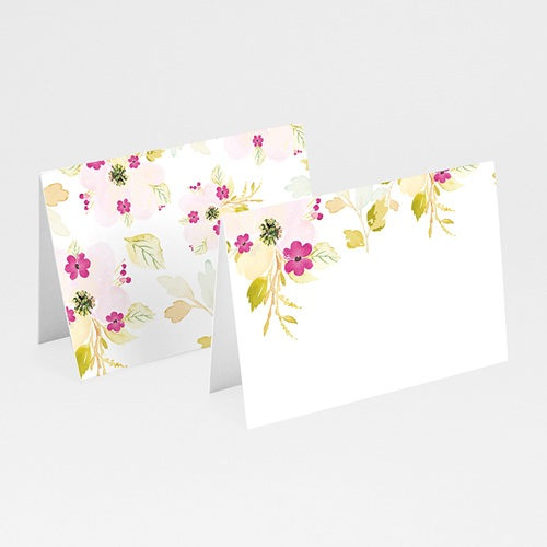 Marque Place Mariage Romance Watercolor