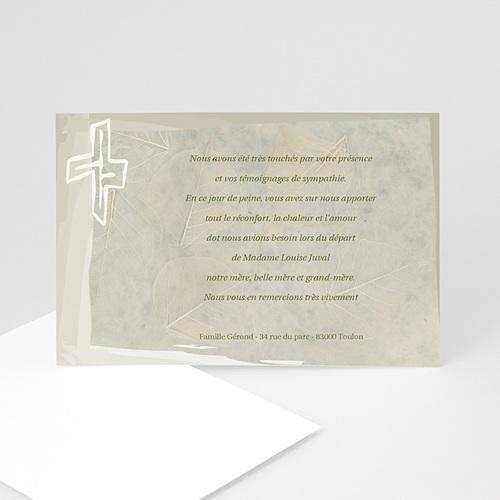 Remerciements Décès Chrétien - Crucial 5141