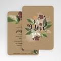 Faire-Part Mariage Fleurs Vintage gratuit