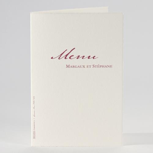 Menu de Mariage - Menu parisien 51458