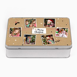Boîte personnalisée Friandises de Noel