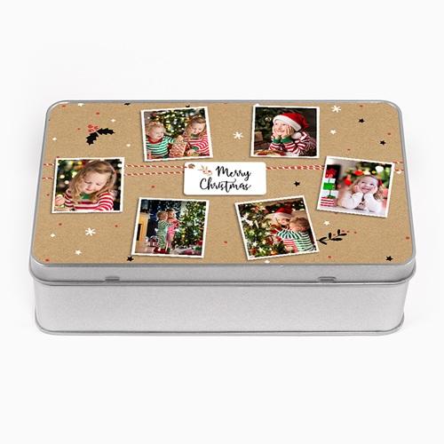 Boîte en métal personnalisée - Friandises de Noel 51681 thumb