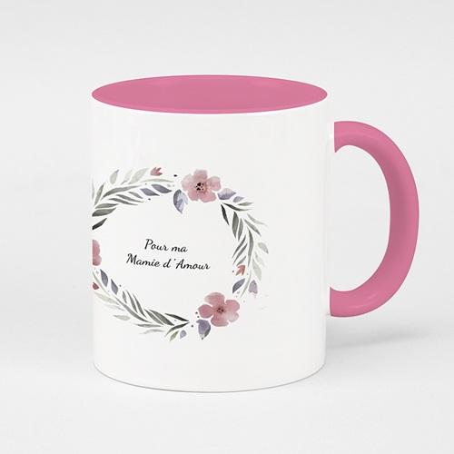 Mug de couleur - Rose & Pétales 51697