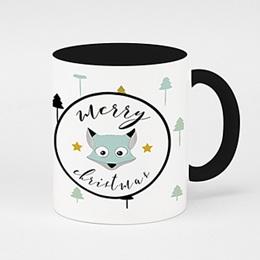 Mug Cadeaux Renard des neiges