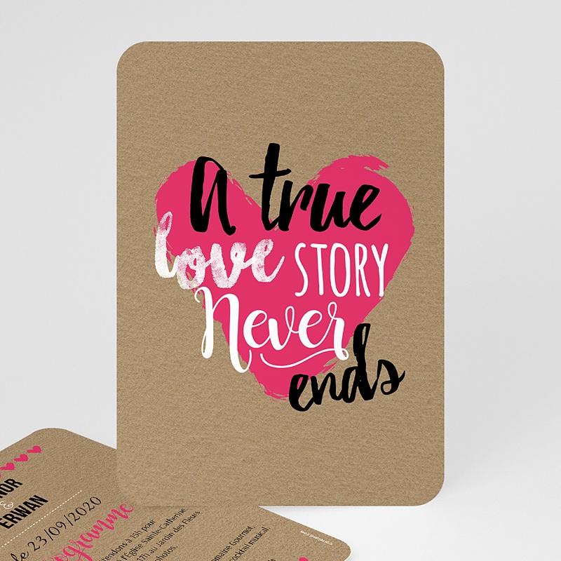Faire-Part Mariage Love story