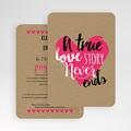 Faire-Part Mariage Love story gratuit