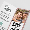 Faire-part mariage Wedding Day Rétro pas cher