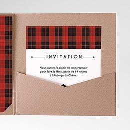Carte d'invitation Yuccie Chic