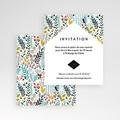 Carte d'invitation Prairie sauvage gratuit