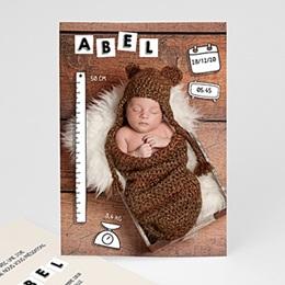 Faire-Part Naissance ABC bébé