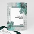 Faire-part mariage - Plante exotique - 6117