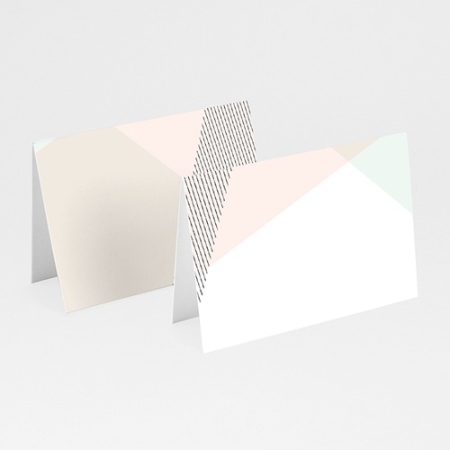 Marque Place Mariage - Style cubiste 52377