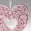 Faire-Part Mariage Traditionnel - Pochette coeur 52518 thumb