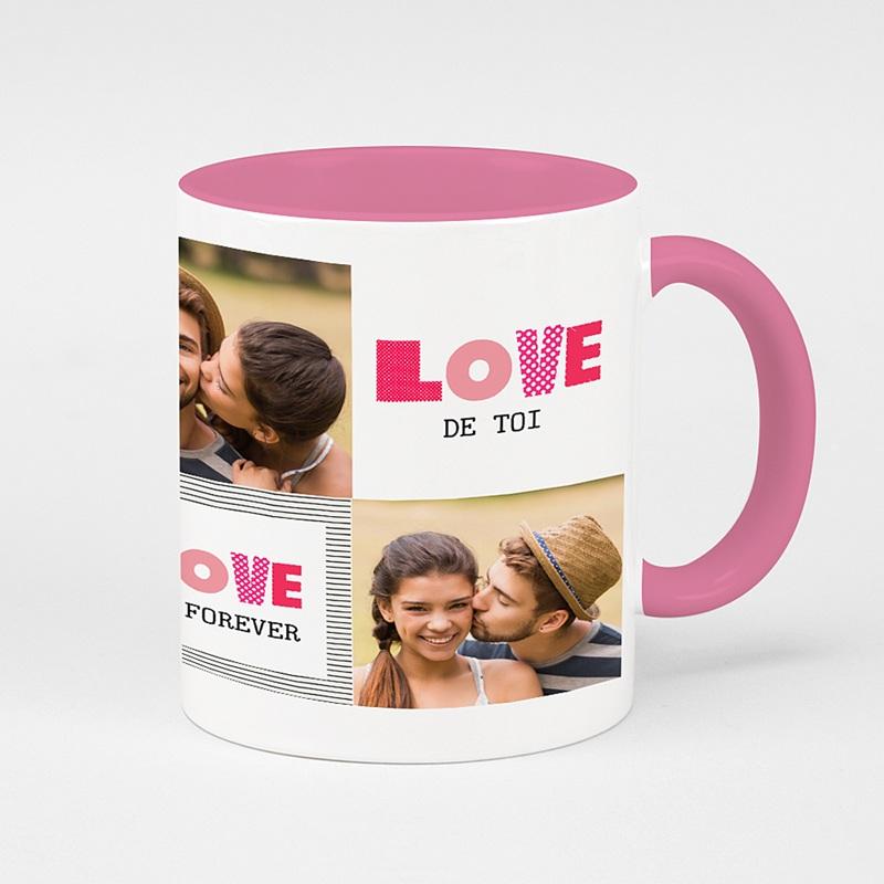 Mug Personnalisé de Couleur Love de toi