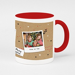 Mug de couleur Christmas Tea
