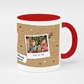 Mug Personnalisé de Couleur Christmas Tea