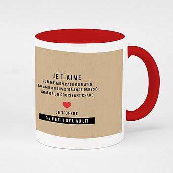 Mug de couleur - My Valentine - 0