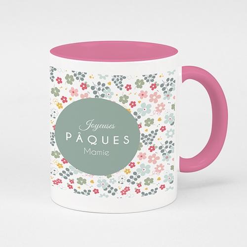 Mug de couleur - Pâque fleurie 52592