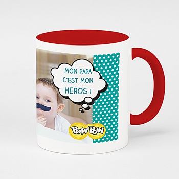 Mug de couleur - Super Papa - 0