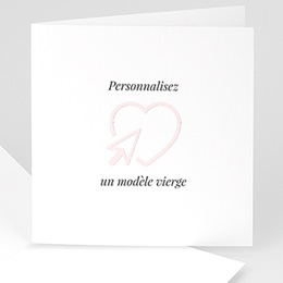 Faire-Part Naissance Fille - Naissance 100% Création 52715