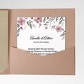 Faire-Part Mariage - Fleurs romantiques - 6186