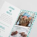 Faire-Part Naissance Garçon UNICEF - Douce nuit étoilée 52984 thumb
