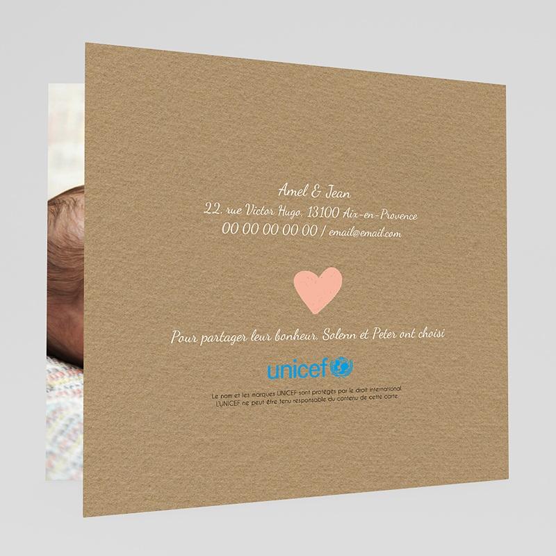 Faire-Part Naissance Fille UNICEF Attrape-Rêve Douceur gratuit