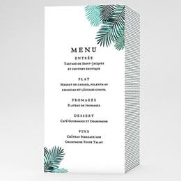 Menu de Mariage - Exotic Chic - 0