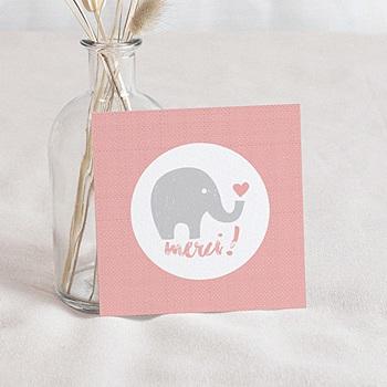 Achat remerciement naissance unicef elephant girl